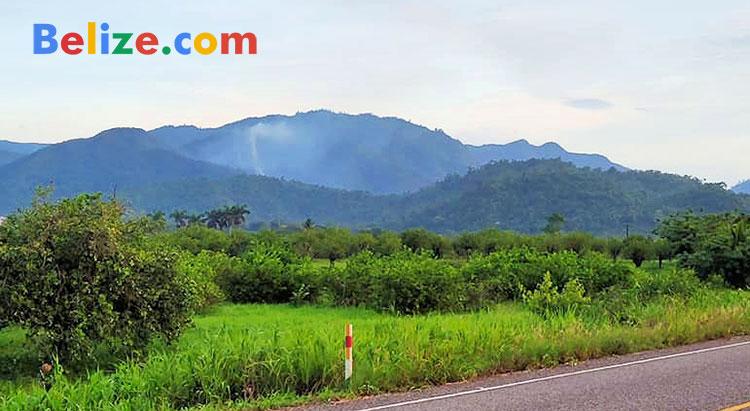 Smoke Sleeping Giant Mountain