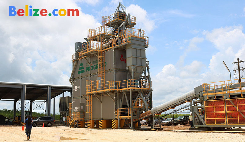 Belize Rocafuerte Progreso cement